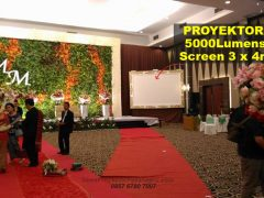 proyektor 5000 lumens