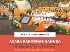 Sewa tv pekanbaru untuk pidato Presiden
