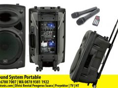 Rental / Sewa Sound System Portable Pekanbaru