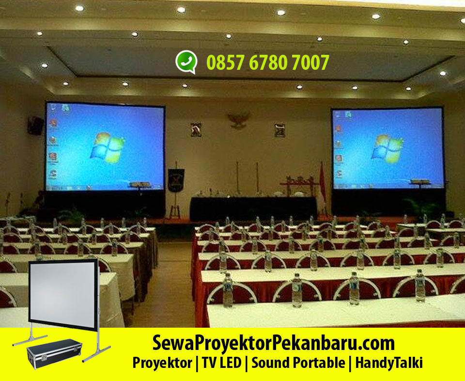Rental Screen Projector di Pekanbaru