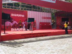 Sewa TV untuk Booth Pameran