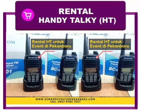 Tempat Rental Handy Talky Pekanbaru