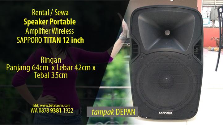 Tempat Sewa Speaker Portable Pekanbaru