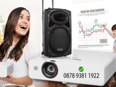 sewa proyektor dan sound portable pekanbaru