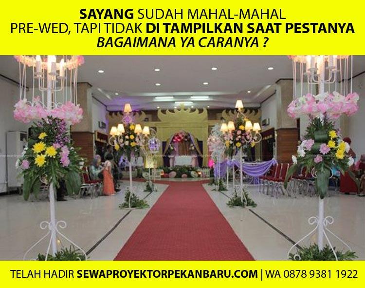 Sewa Proyektor untuk Wedding / Pernikahan