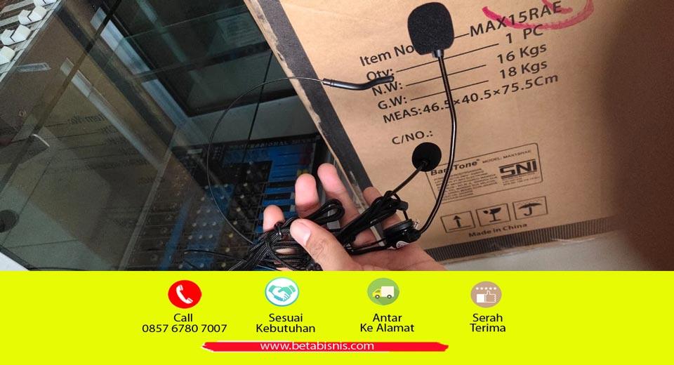 Sewa mic clip on Pekanbaru