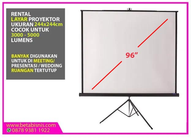 Screen Projector 96inch