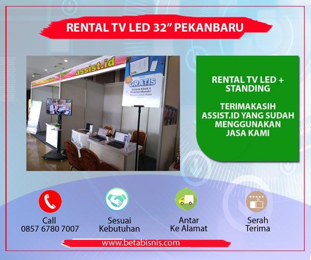 Sewa TV untuk Pameran di Pekanbaru